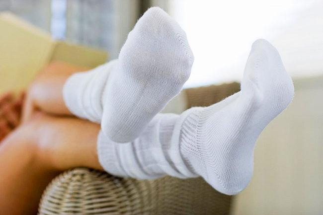 как отбелить носки в домашних условиях