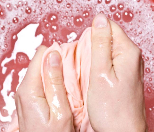 как отстирать старое жирное пятно