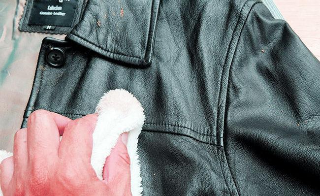 чем отстирать жирное пятно на куртке
