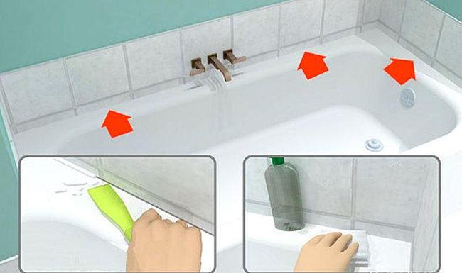 чем очистить герметик с пластика