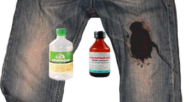 чем удалить машинное масло с одежды