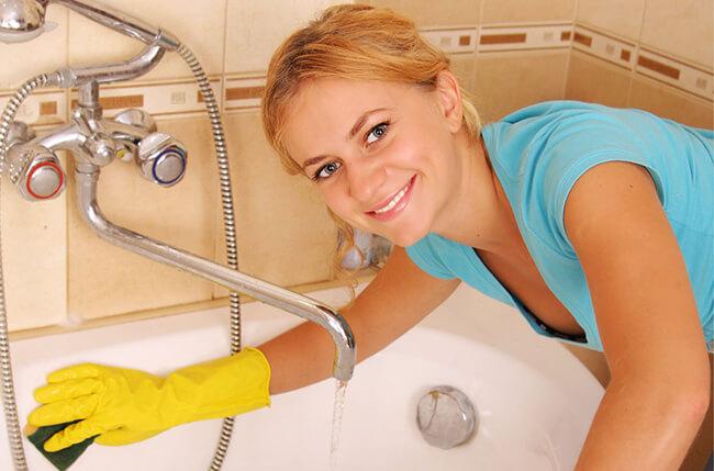 Какими средствами можно чистить акриловую ванну