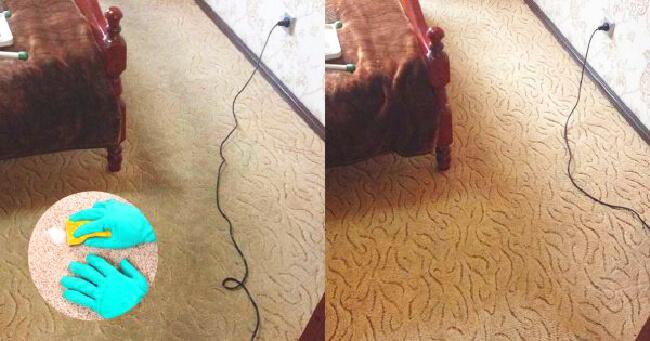 Это моющее средство для ковров сделало ковер как новеньким! А хотела его выкинуть.