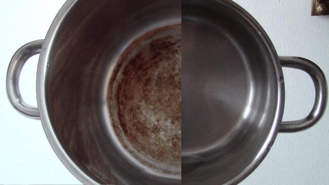 14 способов, как отчистить пригоревшее дно у кастрюли. Моя кастрюля блестит, как 10 лет назад…
