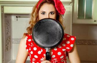 как почистить сковороду от нагара