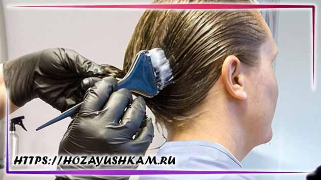 перчатки при окрашивании волос